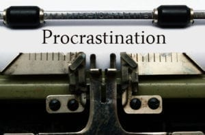 overcoming writing procrastination