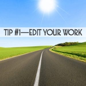 How to do your own editing for self-publishing