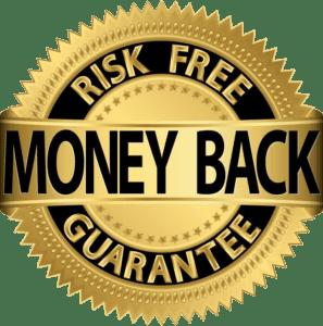 Risk Free Money Back Guarantee Seal
